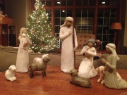 I didn't even buy the wise men to go with this nativity.