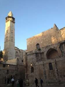Sunrise in Jerusalem, Church of the Holy Sepulcher
