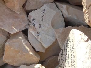 On top of Qumran.