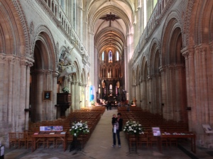 Bayeux Cathedral (interior)