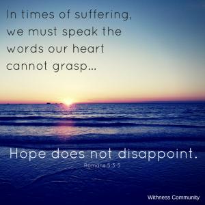 Suffering - Hope